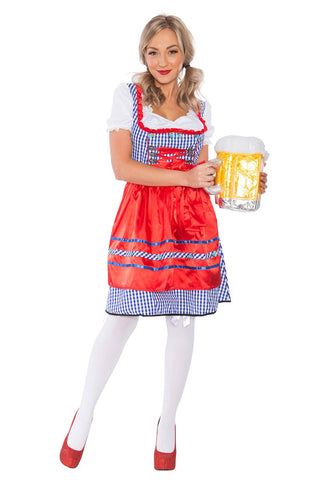 The Edith: Premium Ladies Beer Maid Wench Costume Oktoberfest Gretchen German Fancy Dress Halloween