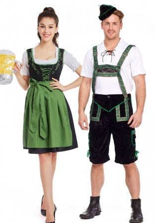Premium Oktoberfest German Couple Costumes