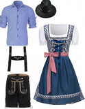 Premium Oktoberfest German Wench Couple Costumes