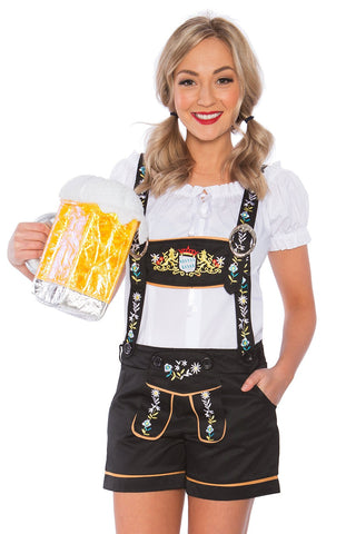Premium Ladies Oktoberfest German Bavarian Heidi Costume