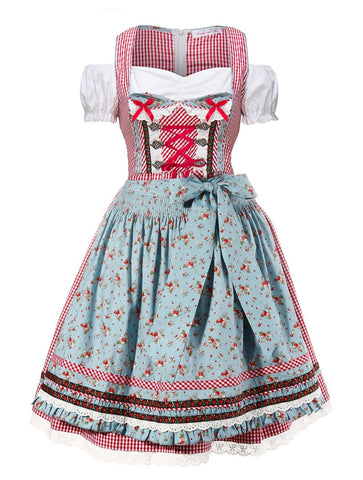 "The ""Maria, Maria"" Premium Ladies Oktoberfest German Bavarian Beer Maid Vintage Costume"