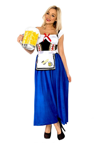 Premium Oktoberfest German Beer Maid Costume