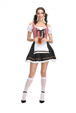 Premium Oktoberfest german heidi Ladies Costume