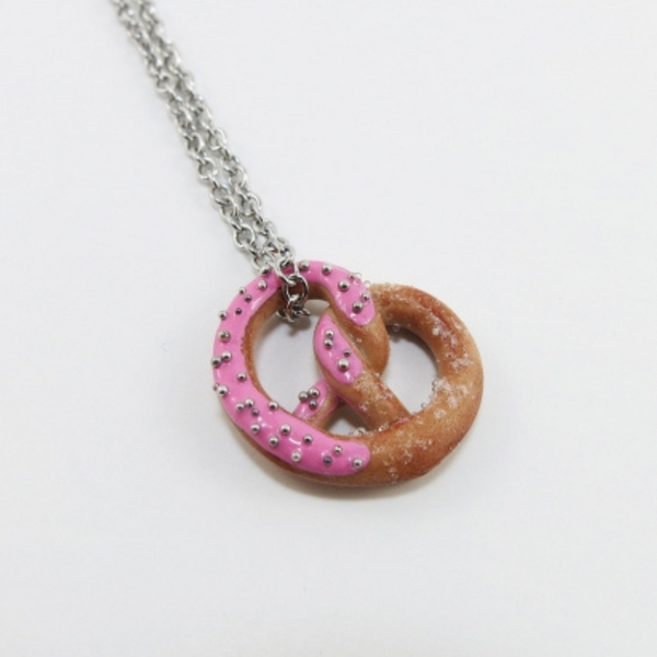 Mini collier Bretzel girly
