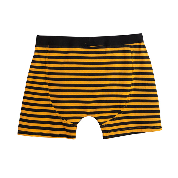 Yellow & Black Boxer-briefs