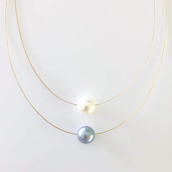 Pearl Necklace 2-Strand