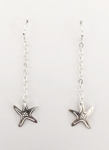 Little Starfish Dangle Earrings