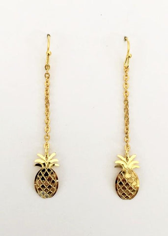 Pineapple Dangle Earring