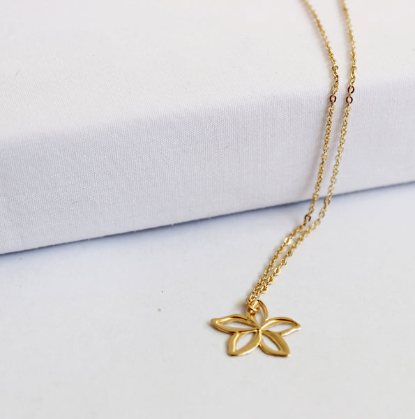 Dancing Plumeria Necklace
