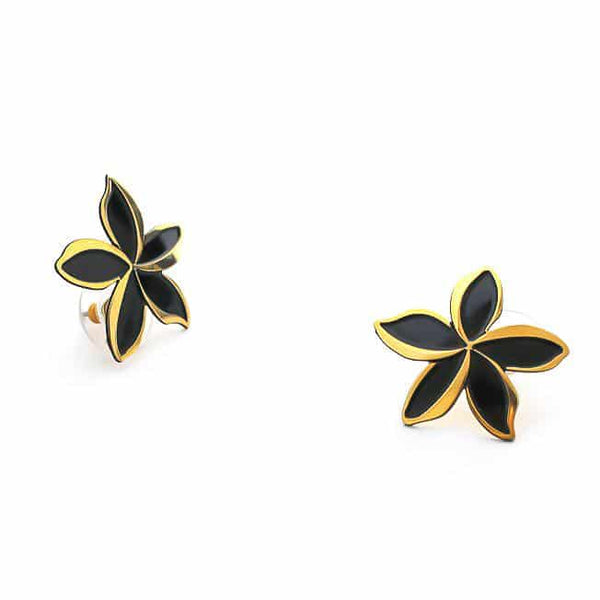 Plumeria Melia Medium Earrings