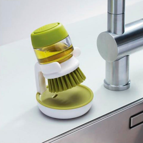 Soap Dispensing Kitchen Brush