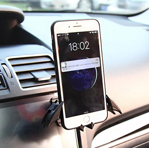 Bat Shaped Universal Car Phone Mount