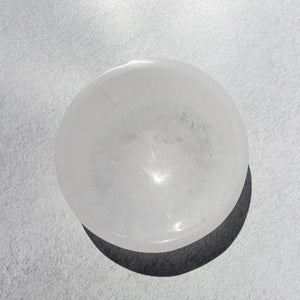 selenite bowl (small) i.