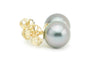 Light Pink Tahitian Pearl Stud Earrings
