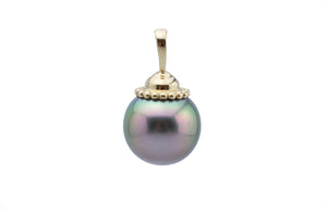 Peacock Dream Tahitian Pearl Pendant