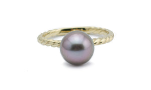 Pretty in Pink Tahitian Pearl Ring