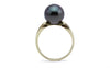 Indigo Midnight Tahitian Pearl Ring
