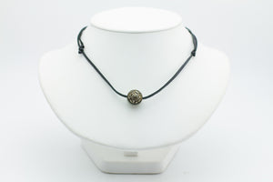 Reversible 14.5mm Carved Tahitian Pearl Necklace