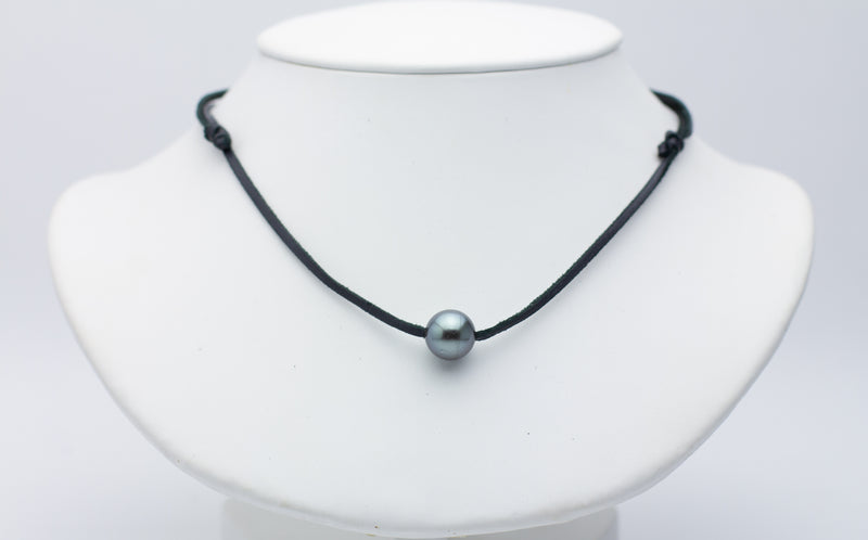 11.5mm Super Mana Tahitian Pearl Necklace