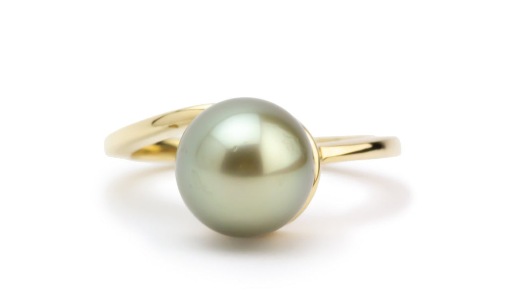 Golden Glow Tahitian Pearl Ring
