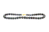 Tropical Midnight Tahitian Circled Pearl Strand