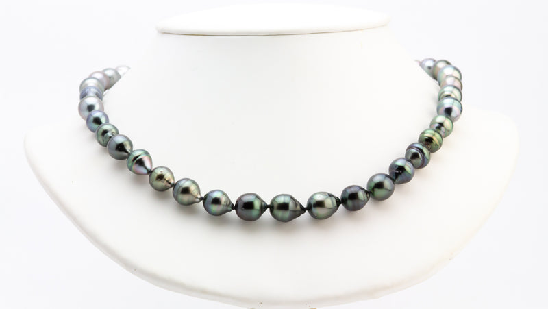 Ombre Tahitian Circled Pearl Strand