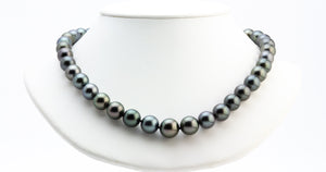Kamala Harris Black Tahitian Pearl 11-13mm necklace