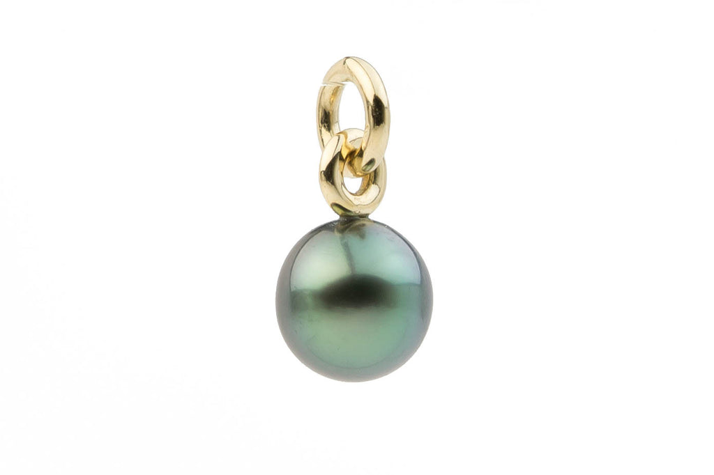 Green Dream Tahitian Pearl Pendant