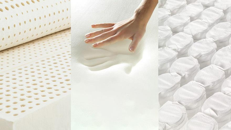 What is Latex, Memory Foam and Pocketed Spring Mattress?