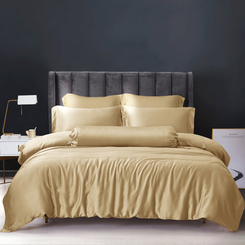 Palais Suite TENCEL™ Classic Gold Fitted Sheet Set