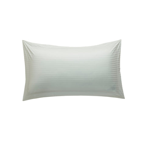 Hotelier Prestigio™ White Sateen Stripe King Sham