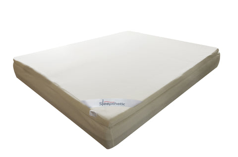Sleepthetic™ Fitted Memory Foam Topper [7.5 Firmness / 5cm  Thick]