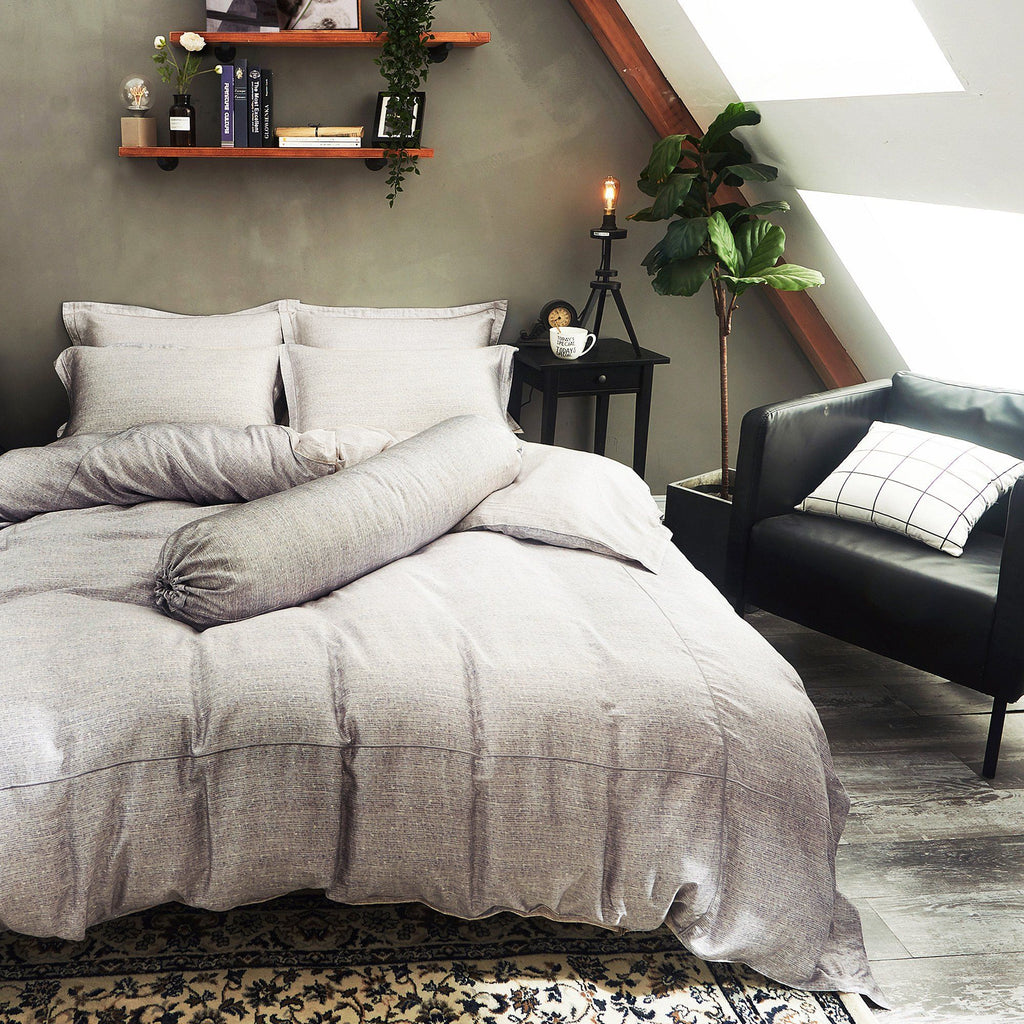 Palais Suite TENCEL™ Smoky Quartz Quilt Cover - Bedding Affairs