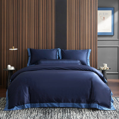 Hotelier Prestigio™ Supima Cotton Royal Azure Quilt Cover - Bedding Affairs