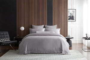 Hotelier Prestigio™ Ashlyn With Grey Border Quilt Cover