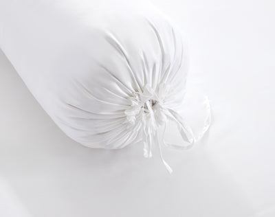 Hotelier Prestigio™ Lucent White Bolster Case - Bedding Affairs