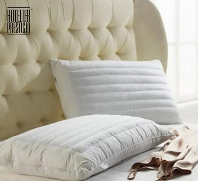 Hotelier Prestigio Down Alternative Buckwheat Pillow - Bedding Affairs