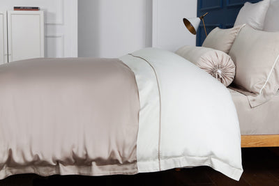 Palais Suite TENCEL™ Bagel Beige Bolster Case - Bedding Affairs