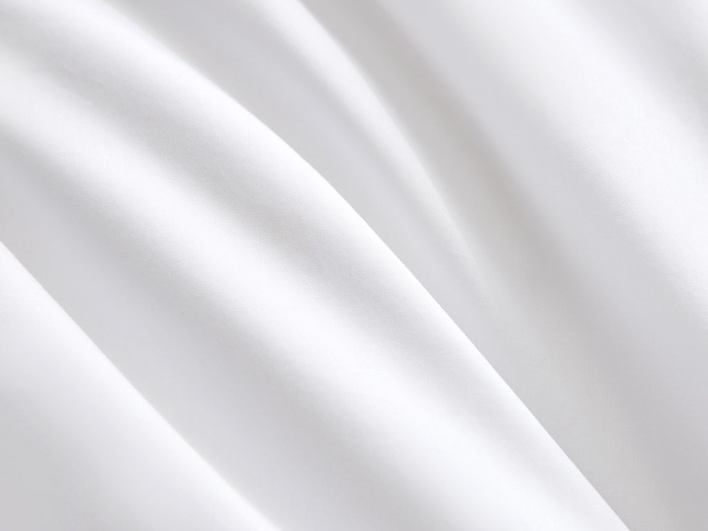 Hotelier Prestigio™ Lucent White With White Lines Quilt Cover - Bedding Affairs