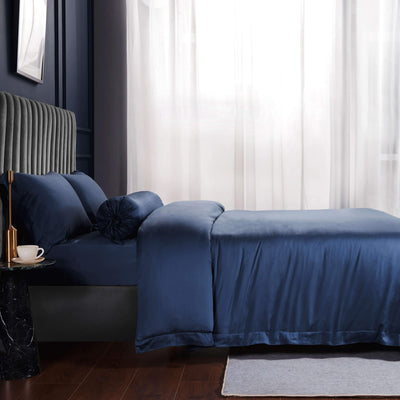Palais Suite TENCEL™ Empress Blue Bolster Case