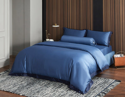 Hotelier Prestigio™ Supima Cotton Cyprus Blue Fitted Sheet Set