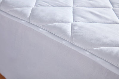Hotelier Prestigio™ Fitted Poly-Cotton Mattress Protector - Bedding Affairs