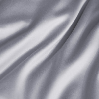 Hotelier Prestigio™ Supima Cotton Percale Pewter Stripe Fitted Sheet Set - Bedding Affairs