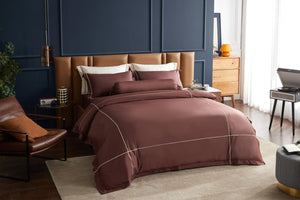 Hotelier Prestigio™ Bruno With Tawny Cross Border Pillow Case