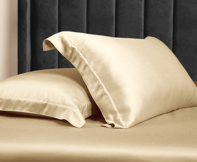Palais Suite TENCEL™ Classic Gold Pillow Case - Bedding Affairs