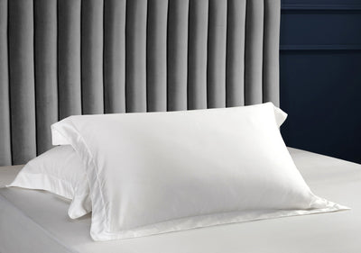 Palais Suite TENCEL™ Pearly White Quilt Cover - Bedding Affairs