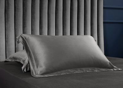Palais Suite TENCEL™ Imperial Gray Quilt Cover - Bedding Affairs