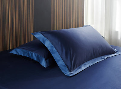 Hotelier Prestigio™ Supima Cotton Royal Azure Quilt Cover
