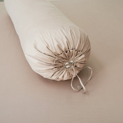 Hotelier Prestigio™ Luxury Bronzy Bolster Case - Bedding Affairs
