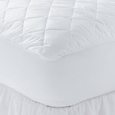 Hotelier Prestigio™ Fitted Poly-Cotton Mattress Protector (Free Mattress Protector Size Will Be Based On The Mattress Size Purchased) - Bedding Affairs